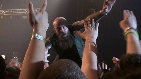 Rockin for Jesus - lead singer of Demon Hunter