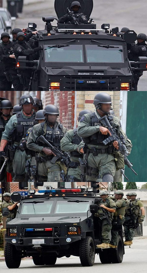 Homeland Security Pre-Staging A Domestic Military Force