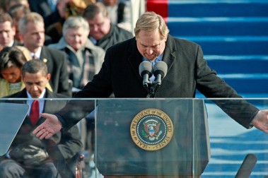 Rick W inauguration prayer