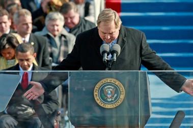 Rick W inauguration prayer