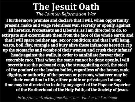 Jesuit oath